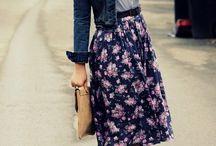 clothes, clothes, clothes... ;)