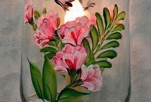 Painting vase