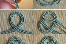 earrings and bracelets