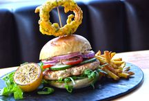 Burger & Beer Tuesdays / See our chefs beautiful creations of edible art with our Burger & Beer promotion. Choose one of four gourmet burgers paired with a flight of 4 beers available in 16 draft options.