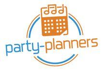 Party Planners / Thema  entertainment op de locatie van uw keuze. Avondvullende spelshows en themafeesten; professionele acteurs, licht en geluid boekt u bij Party Planners. Geen zorgen, wij nemen het totaalpakket uit handen.