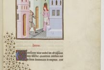 The Comedies of Terence (Maître de Luçon) / BnF Arsenal, MS 664 reserve, The Comedies of Terence, Publius Terencius Afer, first quarter of the 15th Century.