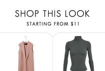 Fashion: makeup, hair, clothing