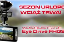 Kamerki samochodowe / Tablica prezentuje produkowane przez nas wideorejestratory samochoowe