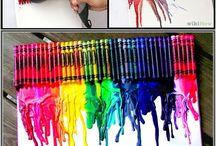 Crayon artes