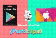 Concursos / Aquí encontrarán todos los concursos que realizamos en Don Pixel, no duden en participar y seguirnos para que no se pierdan ninguno.