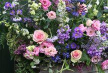 Spring wedding flowers by Jenny Fleur