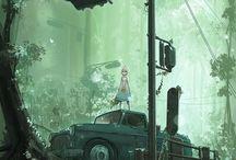 ЗИД / Tree terror city