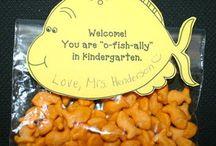 Welcome to kindergarten gifts / by Cassandra Winkert
