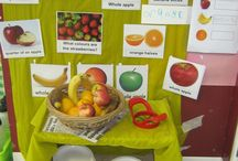 Snack table eyfs