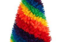 Colorfull christmas tree