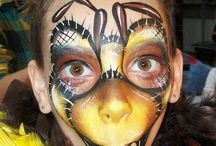 Insect Face Paint