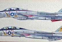 Marking F-14 Tomcat