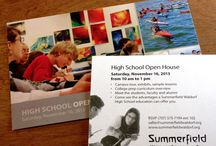 {client focus} Summerfield Waldorf School and Farm / Work we have printed for our long term educational client