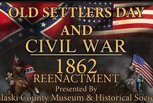 Old Settlers Day 2016 / Waynesville is home to Old Settlers Day- a unique living history event that takes place the last weekend in July.