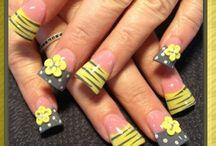 vrolijke nagels