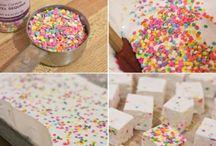 dulces y sustancias
