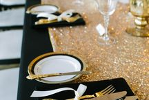 wedding black&gold