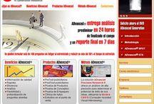 ADvanced / Sitio desarrollado con HTML y Flash para ADvanced® (una herramienta de medición que permite evaluar estímulos, videos y grabar las respuestas abiertas que dan los entrevistados, utilizando la técnica CAVI®), un producto del Grupo de la Riva http://www.delariva.com.mx/