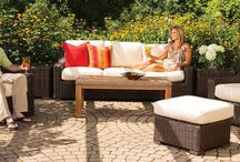 Patio Furniture - Contemporary / Patio Furniture - Contemporary Style your backyard with these contemporary styles. #contemporary #patiofurniture