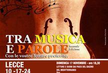 Events!!!  / Tutti gli eventi a Lecce e dintorni! :)