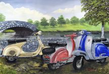 Artist 002 - Les Wilson - Prints for Sale / A Large range of prints covering various genres, all of which are post free, I take paypal    -    Ebay Shop Address is     -    http://stores.ebay.co.uk/Re-Chord    -     includes, Vespa, Lambretta, Coastal, Trams, Nostalgic, Scooter