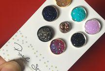 Pixel Stones / Handmade jewellery