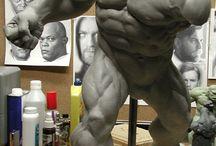 esculturas inspiraçoes
