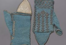 17th century Gloves and Mittens