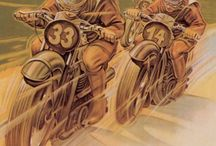 Vintage Motorcycling Posters / Love old motorcycles? Check out some of these great vintage posters and ads.