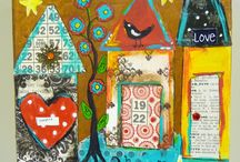 Mixed media / by Lissie Dennison