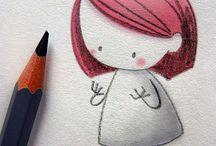 Sevimli çizimler