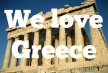We Love Greece / A collection of the best photography of Greece from around the web.