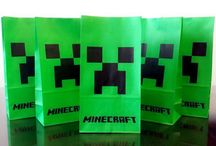 Minecraft party / by Leigh Keperling Grause