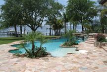 Pools Designed / Collection of pools designed by Mark Richter Artful Pools Design and Consulting