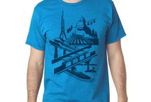 Tomorrowland Shirt T-shirt in Blue or Gray