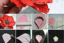 květiny modelování