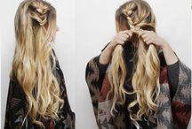 messy boho fishtail braid