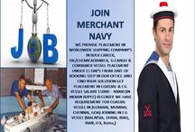Start carrier with great salary package in merchant navy Job