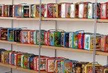 Lunchboxes / I collect vintage lunch boxes - Here is my dream list  / by Ariel Hyatt