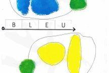 Petit bleu et petit jaune