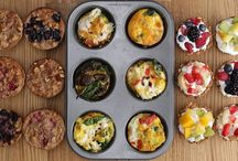 Make assorted muffins in one tray