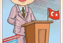 örnek türk insanları
