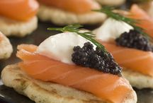 Stylish Cold canapes