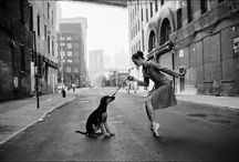 Dancers ❤️ Dogs