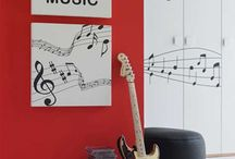 music room / by Vivandi Rules
