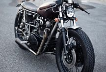Cool looking yamahas / Cafe style, custom Yamaha 650XS and similar bikes.