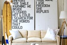 Home Decor / by Brittany Ward