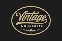 Vintage Garage & Industrial Logos