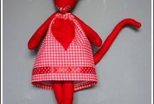 Mouses / Little doll mauses with owne name